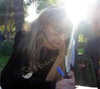 Foto Autografata Piera Degli Esposti Autografo Asta beneficenza Cinema Signed