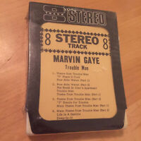 MARVIN GAYE Trouble Man - 8 Track Cartridge Tape BRAND NEW & FACTORY SEAlED RARE
