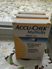 Accu-Chek Multiclix 3 Boxes New Total 306 Lancets