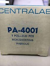 Centralab PA-4001 Non-Shorting Phenolic (LOT OF 3)