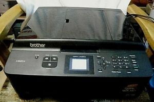 Brother MFC-J435W WiFi All in One Fax/Printer With 3 New Ink for Parts or Repair