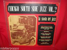 CHICAGO SOUTH SIDE JAZZ Vol 2 LP ITALY 1971 MINT- Jazz Library