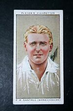 Warwickshire County Cricket Club Santall # Vintage Cricketer Card