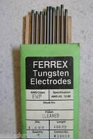 10 Electrodos Tungsteno Soldadura TIG de 4,0 x 150 mm VERDE ETWT0 - Made in USA