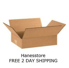 25 NEW  12x9x3 Packing Shipping Boxes Cartons **  FREE 2 DAY SHIPPING **