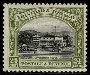 TRINIDAD & TOBAGO GV SG236a, 24c black & olive-green, M MINT. Cat £30. PERF 12½