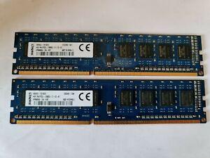 8GB ( 2 x 4GB ) PC3L-12800 DDR3-1600 MHz NON ECC RAM Kingston HP 698650-154