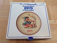 Hummel Plate - Goebel - 7.5 In - 1979 - Singing Lessons