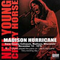Neil Young And Crazy Horse Madison Hurricane 1976 Wisconcin CD 2 Discs Case Set