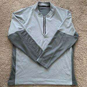Men's Nike Golf Long Sleeve Mock Turtleneck 1/4 Zip Shirt Size XL (AAA13)