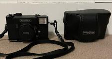 Konica c35 Auto Focus Camera with Leather Case