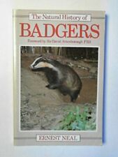 The Natural History of Badgers (Christopher Helm... by Neal, Ernest G. Paperback