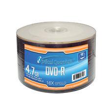 1200 Optical Quantum 16x 4.7GB DVD-R White Inkjet HUB Printable OQDMR16WIPH-50SP