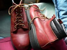 Men's Brown Red Wings Steel Toe 11B 6Inch Ankle Boot