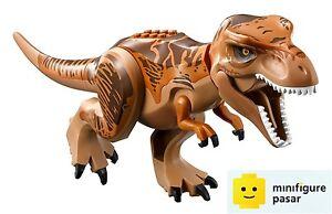 Lego Jurassic World 75918 - Dino T-Rex Dark Orange & Brown Back Minifigure - New