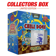 G Fuel ~ Sanic Chili Dogs Collectors Box ~ New UK Seller GFUEL Energy PREORDER!