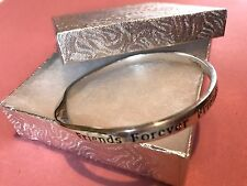 Sentimental Bangle- Friends Forever perfect gift for christmas BDays