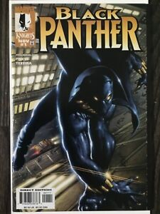 Black Panther #1 - 1st Nakia & Okoye   Marvel 1998 Vol 2