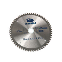 150mm 60Teeth Cutting Disc Circular Saw Blade For Cutting Wood Aluminum Tool