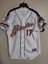Gateway Grizzlies Phil Warren #17 Autograph Frontier League Baseball Jersey - 46