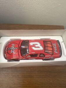 NASCAR 1:24 Scale Stock Car Dale Earnhardt #3 COKE 1998 Monte Carlo New!