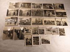 27 alte Fotos Foto Frau Mann Urlaub Biergarten Boot Rudern 50er 60er Jahre