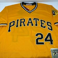 Barry Bonds Pittsburgh Pirates Replica Throwback Jersey Mens Size Small
