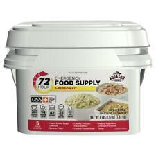 Emergency Food Supply Meal Storage Survival Bucket 42 servings 3 Day 72 Hour Kit