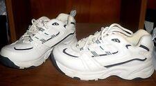 KATHY IRELAND sz 6.5 M *NEW* CROSS-TRAINING white with navy women's shoes