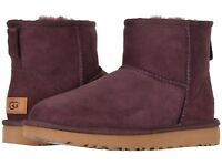 Women's Shoes UGG CLASSIC MINI II Slip On Boots 1016222 PORT SIZE 5