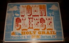 HATCH SHOW PRINT 2017 JOHN CLEESE Monty Python Holy Grail Limited Poster Durham