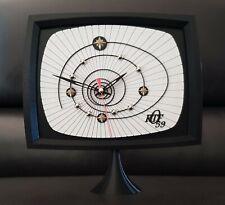 Horloge pendule EVO 3D vintage au design mire interlude television 📺 ORTF 59