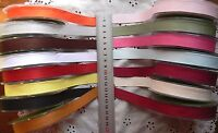 Double Faced Faux Suede Ribbon 16mmWide 3Metres + Shorter 15 Colour Choice CLD11