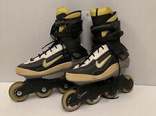 Nike Nspire Inline Roller Skates Mens US Size 8  EUR 41 Yellow Black White