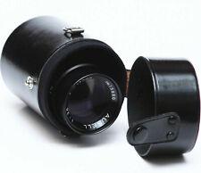 """Vintage Hard Lens Case 4"""" For Tamron Pentax Soligor Canon Sigma Fujica Lenses"""