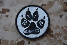 Z169 écusson insigne patch militaire armée Escadron de Chasse 1/12 CAMBRESIS