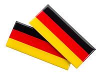 EM WM EDITION Deutschland Magnet Emblem Schild 2 Stück Set HR-IMOTION 121 115 11