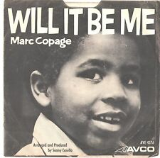 MARC COPAGE--PICTURE SLEEVE + 45---(WILL IT BE ME)--PS--PIC--SLV