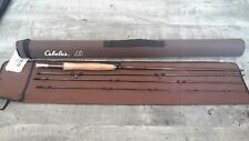 Cabelas Lsi 9ft 5 weight 4 piece fly rod