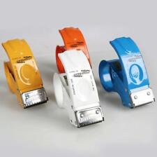 Heavy Duty Tape Dispenser Metal 50mm 2'' Hand Packing Gun Parcel Packaging x 2