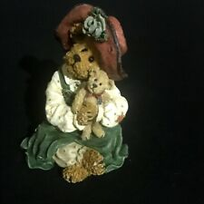 The Bearstone Collection Patricia With Buddy Boyds Bears Figurine  228417