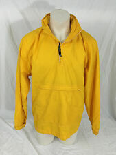 Vintage Yellow Nike Jacket with Convertible Hood Men's Large