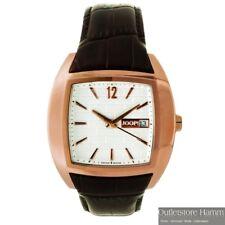 JOOP! Uhr JP100501S04 elegante Herren Armbanduhr mit braunem Lederband