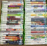 Xbox 360 50+ Games To Pick & Choose From - Very Good Condition