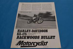 Harley Davidson Motorcycle Sales Brochures For Sale Ebay