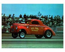 1965 Willys Drag Race Car Big John Mazmanian Photo Poster zca1438