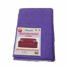 Mobilier de tissu lila 270x280 couvre tout granfoulard Housse Coton