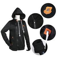 Women's Solid Full Zip Up Hoodie Classic Zipper Hooded Sweatshirt Cotton Soft