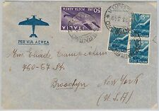 47399 - ITALIA REPUBBLICA - Storia Postale: BUSTA posta Aerea affrancata 100 L.
