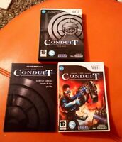 NINTENDO WII GAME THE CONDUIT SPECIAL EDITION LOVELY COMPLETE CONDITION 16+